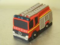 Large Fire Engine Cake Topper